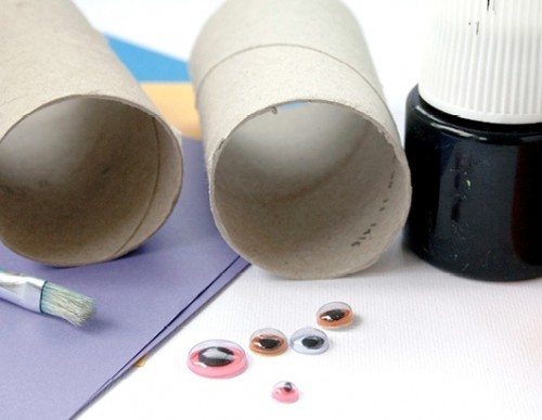 Сделать летучую мышь из бумаги (1)