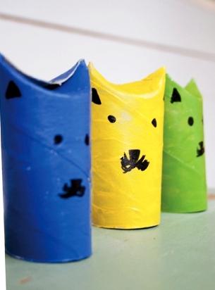 Сделать летучую мышь из бумаги (5)