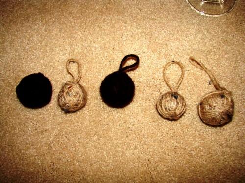 Как делать елочные игрушки - елочные шары своими руками (1)