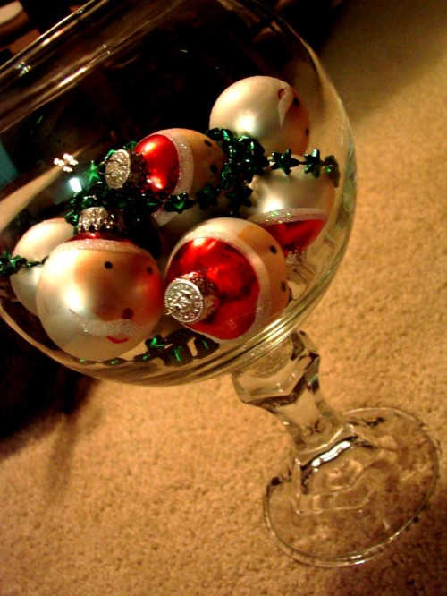 Как делать елочные игрушки - елочные шары своими руками (2)