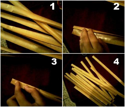 Корзины из бумаги - плетение корзин (3)