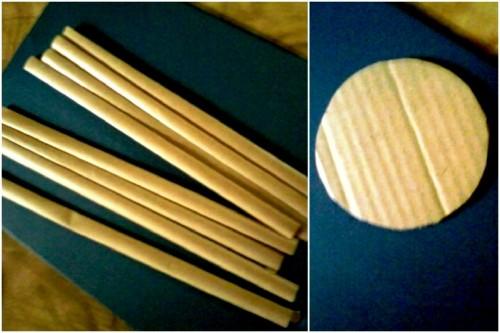 Корзины из бумаги - плетение корзин (7)