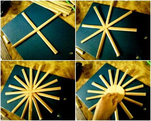 Корзины из бумаги - плетение корзин (8)