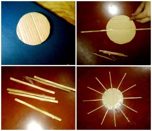 Корзины из бумаги - плетение корзин (12)