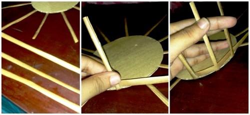 Корзины из бумаги - плетение корзин (13)