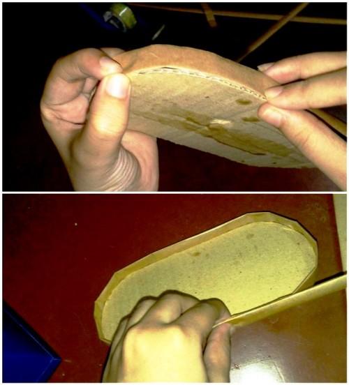 Корзины из бумаги - плетение корзин (21)