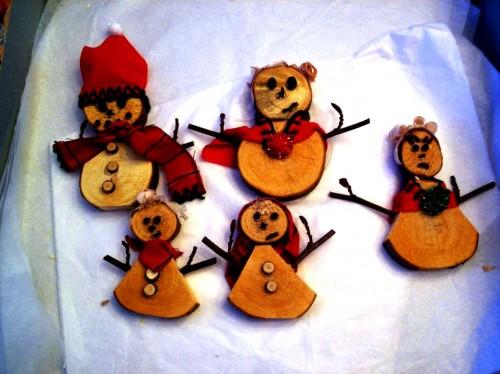 Веселый Новый Год - новогодние снеговики (1)