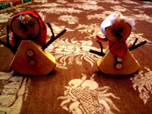 Веселый Новый Год - новогодние снеговики (4)
