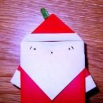 Мастер-класс на Новый Год – оригами Дед Мороз