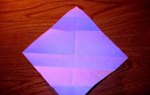 Мастер-класс на Новый Год - оригами Дед Мороз (3)