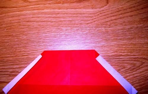 Мастер-класс на Новый Год - оригами Дед Мороз (5)
