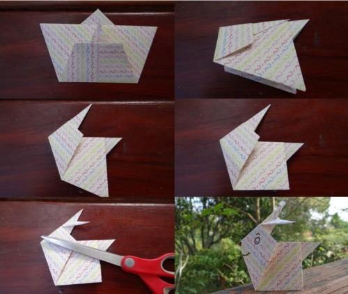 Оригами заяц схема (5)