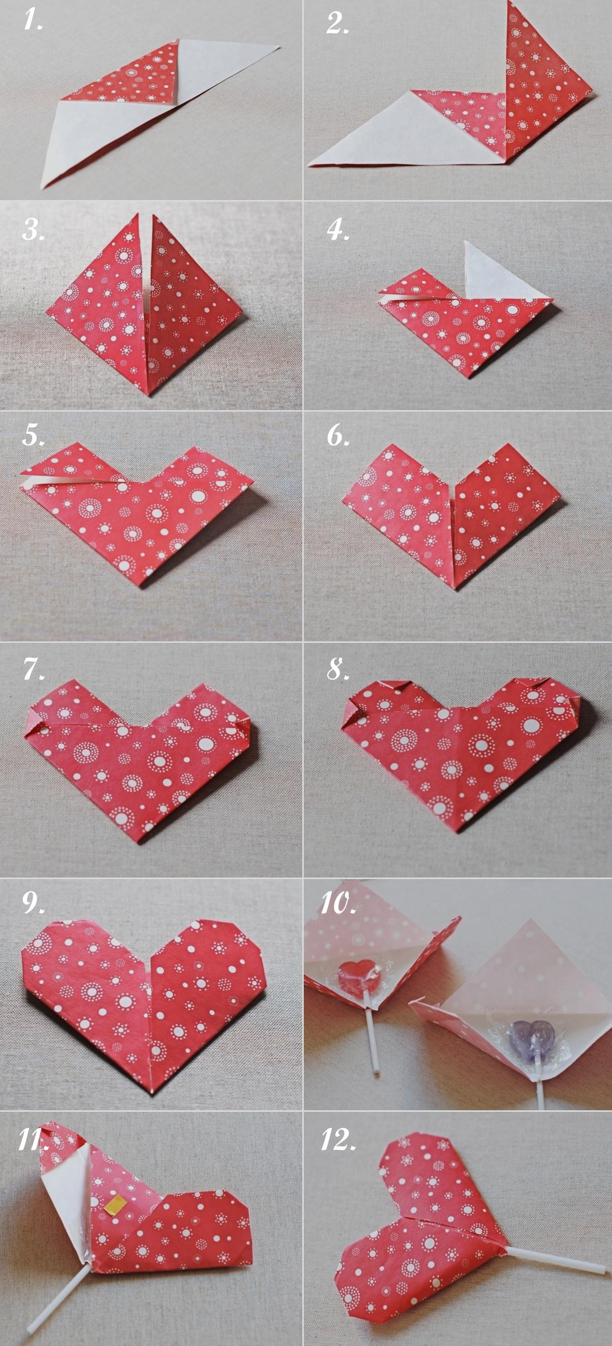 Как сделать оригами сердце красивая Любов на 1Lilu