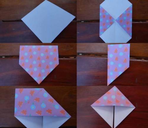 Улитка из бумаги - схема как делать оригами (4)