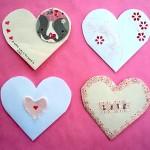 Конверт-сердце для подарка на 14 февраля