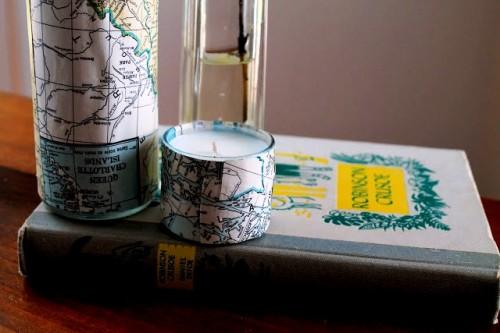 Как - украсить вазу - или сделать - оригинальный подсвечник (7)
