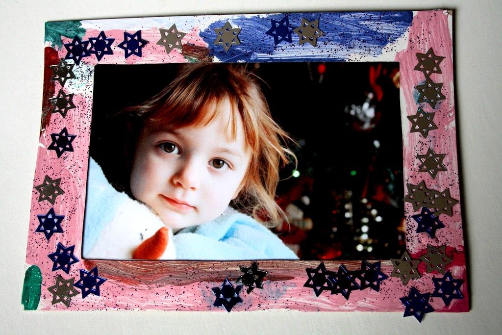 Как сделать рамку для фото детская