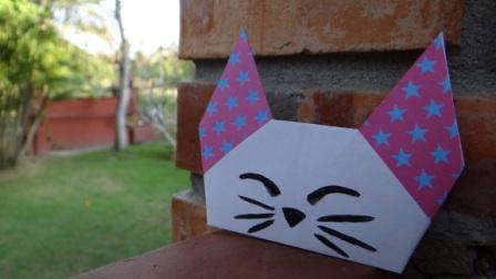Оригами кошка схема (2)
