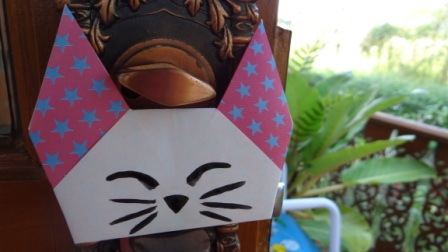Оригами кошка схема (1)