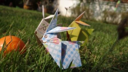 Оригами заяц схема (2)