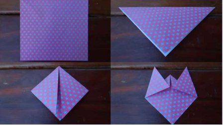 Оригами кошка схема (3)