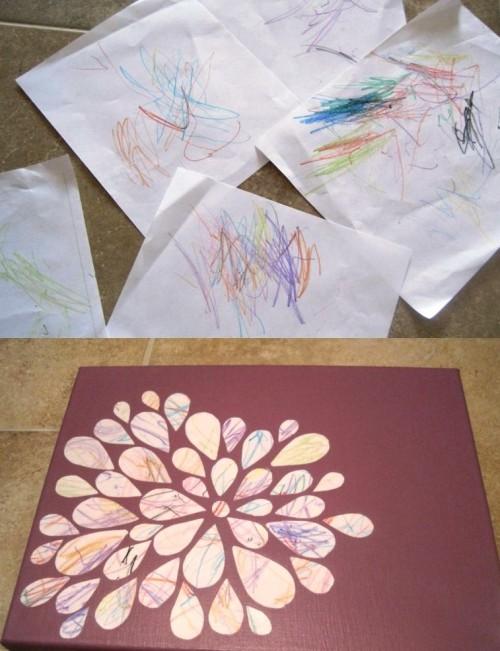 Детские рисунки к 8 марта (1)
