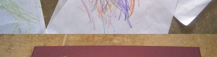 Детские рисунки к 8 марта
