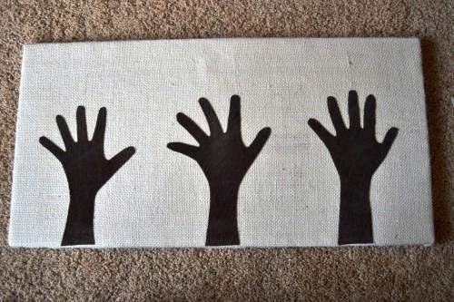 Картина на подарок своими руками