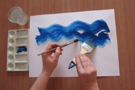 Рисунок Аквариум — как научить детей рисовать (6)