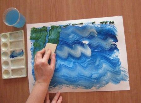 Рисунок Аквариум — как научить детей рисовать (5)
