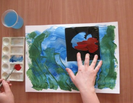Рисунок Аквариум — как научить детей рисовать (4)