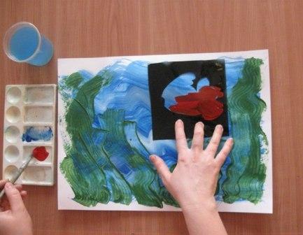 Рисунок Аквариум — как научить детей рисовать (3)
