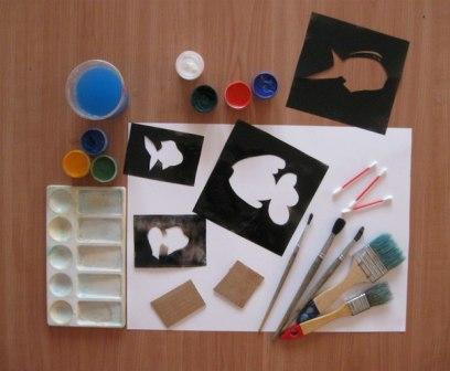 Рисунок Аквариум — как научить детей рисовать (7)