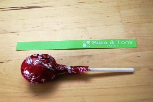 Композиции из конфет - флажки своими руками (2)