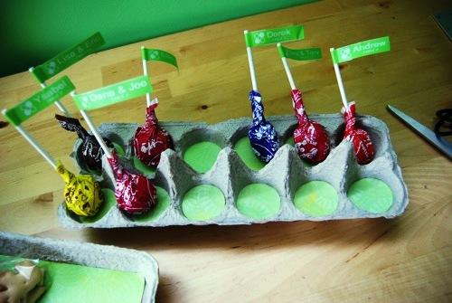 Композиции из конфет - флажки своими руками (4)