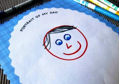 Рисунки для папы своими руками