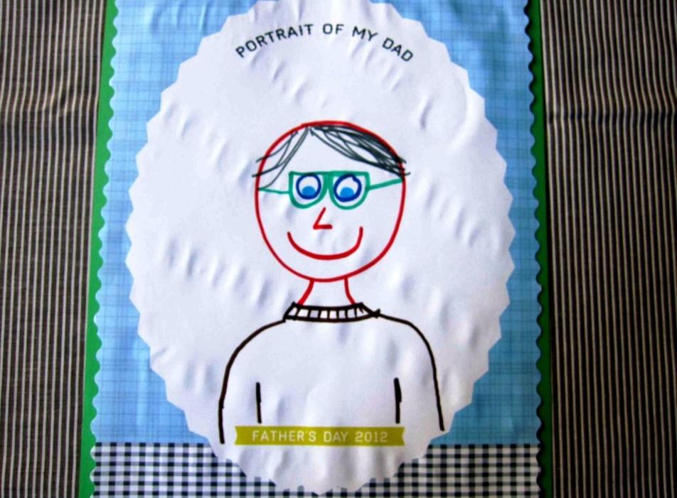 Нарисованные открытки своими руками папе 2