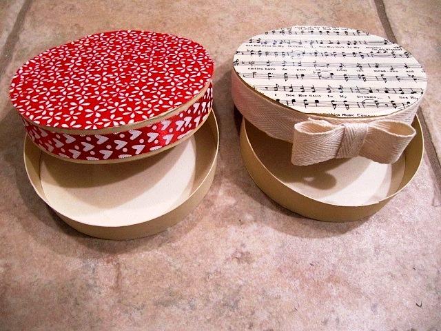 Поделки из коробок - украшение коробок своими руками (2)