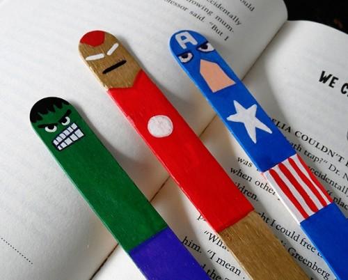 Сделать закладки для книг - детские поделки в детском саду (8)