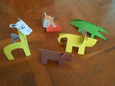 Животные из бумаги - иделия из бумаги и картона (3)