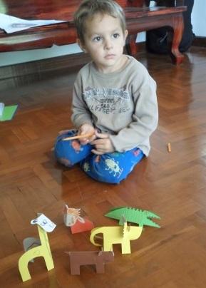 Животные из бумаги - иделия из бумаги и картона (2)