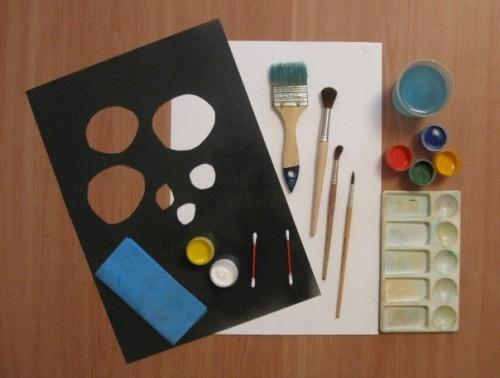 Весенний букет - Как научится рисовать цветы (7)