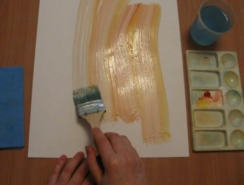 Весенний букет - Как научится рисовать цветы (6)