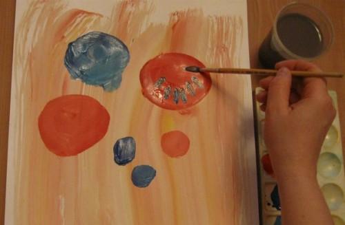 Весенний букет - Как научится рисовать цветы (4)
