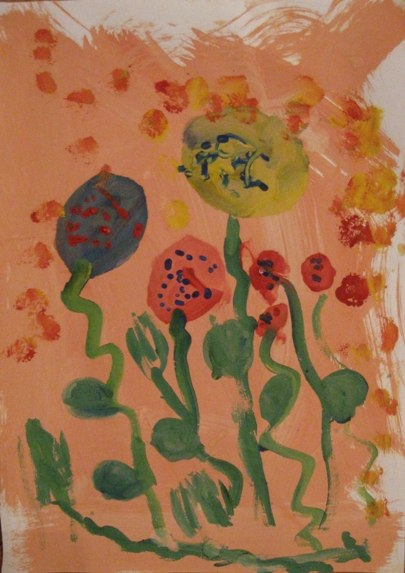 Весенний букет - Как научится рисовать цветы (1)
