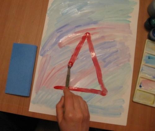 Как нарисовать Деда Мороза - Новогодние рисунки детей от 4 до 6 лет (7)