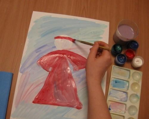 Как нарисовать Деда Мороза - Новогодние рисунки детей от 4 до 6 лет (5)