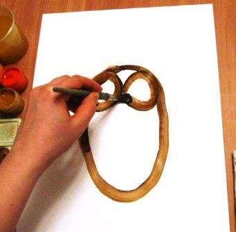 Как нарисовать сову - уроки рисования гуашью (7)
