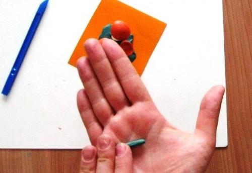 Лепка для детей 5-6 лет - Поляна с грибами (3)