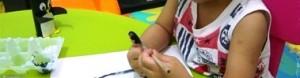 Поделка пингвин - рисунок из отпечатка ноги (5)